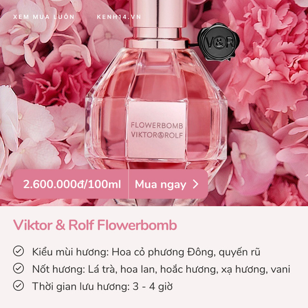 5 chai nước hoa mùa hè cho team bánh bèo: Thơm ngọt nịnh mũi, yêu ngay từ lần ngửi đầu tiên - Ảnh 2.