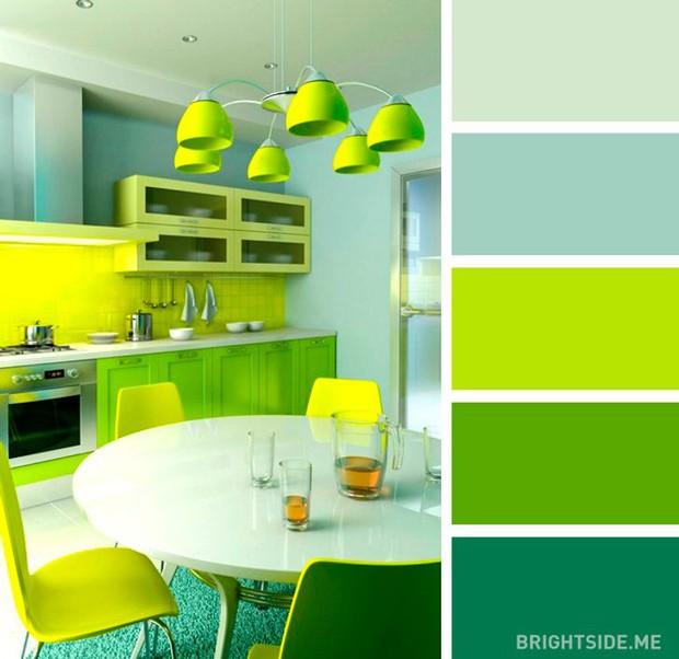 20 sự kết hợp màu sắc đỉnh của chóp cho căn bếp thêm đẹp và sang - Ảnh 13.