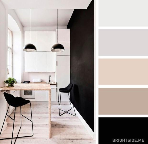 20 sự kết hợp màu sắc đỉnh của chóp cho căn bếp thêm đẹp và sang - Ảnh 14.