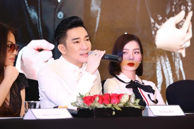 Bị hỏi bạn trai có ghen không nếu ôm Quang Hà, Lệ Quyên có ngay câu trả lời còn suýt để Lâm Bảo Châu phải lên tiếng - Ảnh 2.