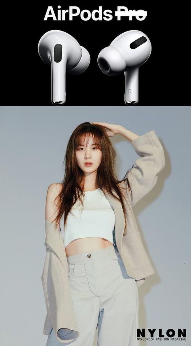 Sau lùm xùm, Seohyun bỗng nhiên được gọi tên là AirPods Pro, hiểu ra ý nghĩa thì ai cũng phải gật gù đồng ý! - Ảnh 1.