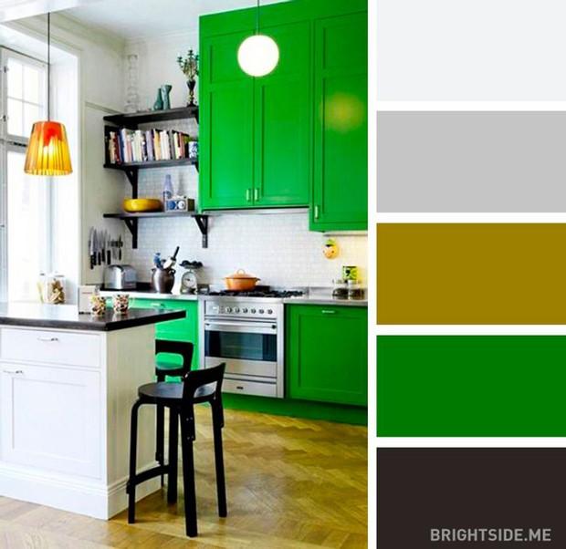 20 sự kết hợp màu sắc đỉnh của chóp cho căn bếp thêm đẹp và sang - Ảnh 17.
