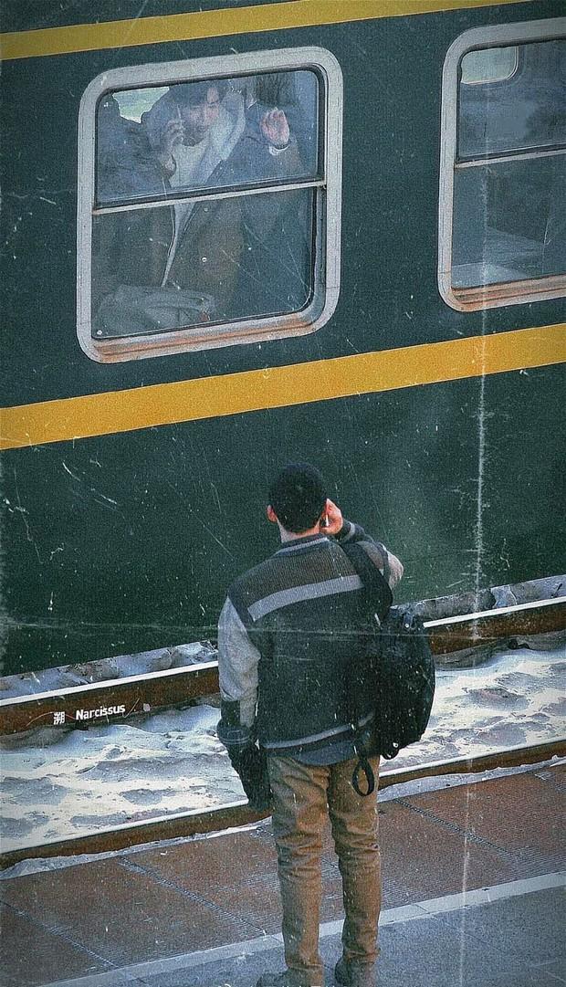 Cặp đam mỹ Vai Trái Có Cậu đóng cảnh ngược vẫn tình như phim Hàn, visual được khen như xé sách bước ra - Ảnh 1.