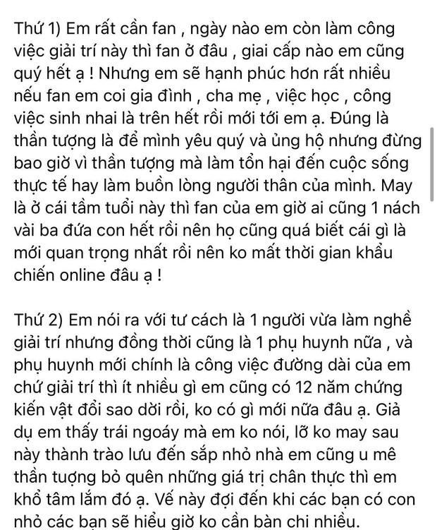 Elly Trần gây tranh cãi khi nêu quan điểm bức xúc fan cuồng idol, chính chủ phải giải thích 3 điều nhưng liệu có hợp lý? - Ảnh 4.