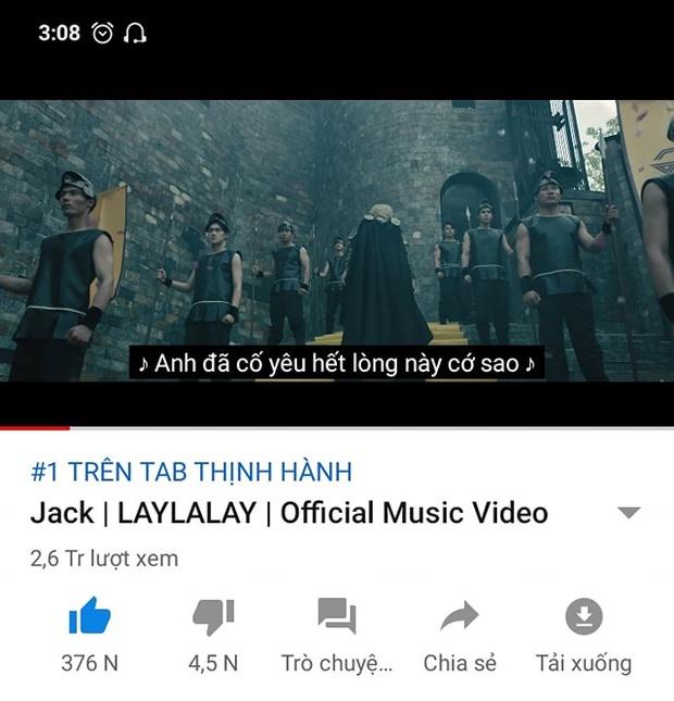Netizen thất vọng về MV comeback của Jack, chê màu mè không liên quan nhưng lỡ phá kỷ lục top 1 trending của bản thân mất rồi! - Ảnh 3.