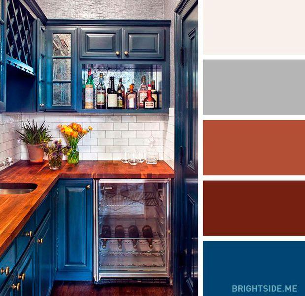 20 sự kết hợp màu sắc đỉnh của chóp cho căn bếp thêm đẹp và sang - Ảnh 19.