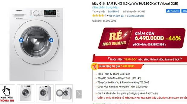 4 tips chọn mua máy giặt cho người độc thân: Vừa tiết kiệm bạc triệu vừa dùng được dài lâu - Ảnh 7.