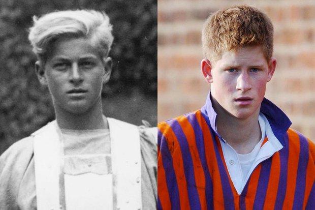 10 khoảnh khắc Hoàng tử Harry giống cố Hoàng thân Philip đến ngỡ ngàng, từ thần thái, dáng hình đến cả nụ cười ấm áp - Ảnh 2.