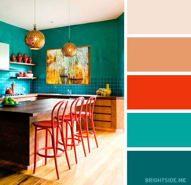 20 sự kết hợp màu sắc đỉnh của chóp cho căn bếp thêm đẹp và sang - Ảnh 20.