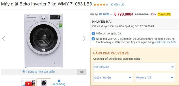 4 tips chọn mua máy giặt cho người độc thân: Vừa tiết kiệm bạc triệu vừa dùng được dài lâu - Ảnh 9.