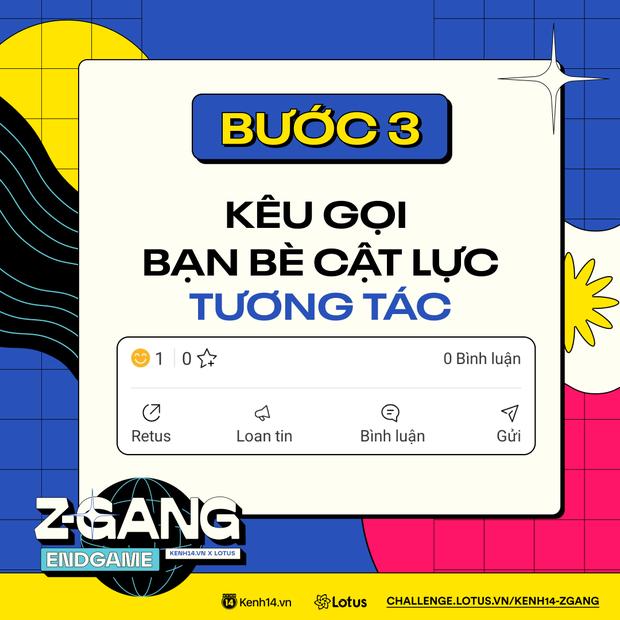 ZGang Endgame: Đây là cách tham gia cuộc thi giúp các homie chinh chiến, ẵm giải thưởng khủng! - Ảnh 3.