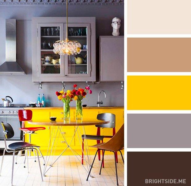 20 sự kết hợp màu sắc đỉnh của chóp cho căn bếp thêm đẹp và sang - Ảnh 4.