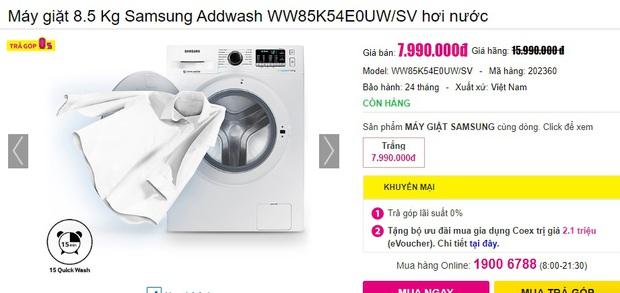 4 tips chọn mua máy giặt cho người độc thân: Vừa tiết kiệm bạc triệu vừa dùng được dài lâu - Ảnh 13.