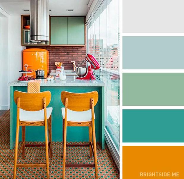 20 sự kết hợp màu sắc đỉnh của chóp cho căn bếp thêm đẹp và sang - Ảnh 5.