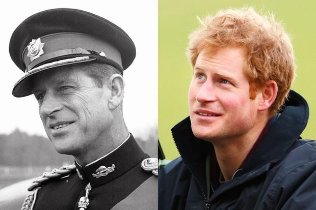 10 khoảnh khắc Hoàng tử Harry giống cố Hoàng thân Philip đến ngỡ ngàng, từ thần thái, dáng hình đến cả nụ cười ấm áp - Ảnh 6.