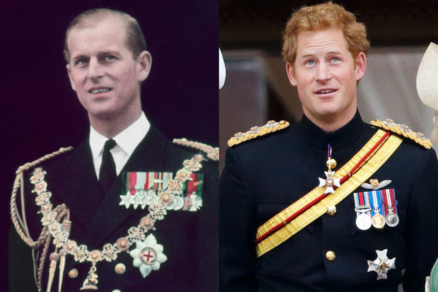 10 khoảnh khắc Hoàng tử Harry giống cố Hoàng thân Philip đến ngỡ ngàng, từ thần thái, dáng hình đến cả nụ cười ấm áp - Ảnh 8.