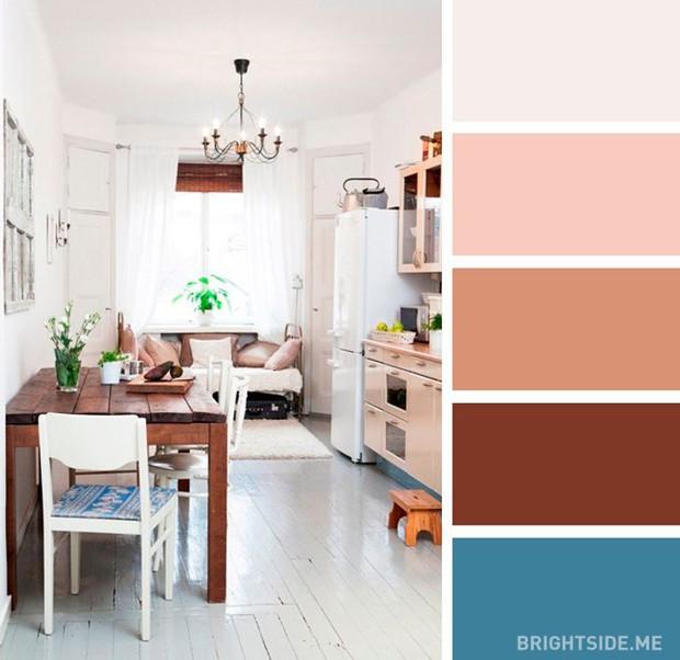20 sự kết hợp màu sắc đỉnh của chóp cho căn bếp thêm đẹp và sang - Ảnh 9.