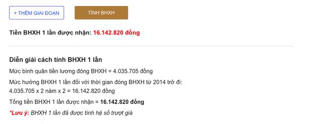 Đi làm bao nhiêu năm, đóng bảo hiểm bấy nhiêu ngày tháng, thử tính xem bạn nhận được bao nhiêu tiền BHXH - Ảnh 3.