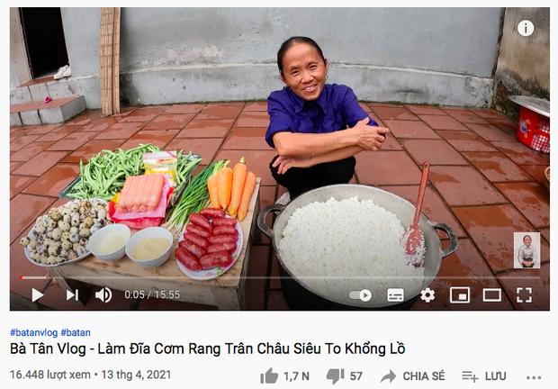 """Bà Tân Vlog làm món """"cơm rang trân châu"""" khiến dân tình lag mạnh, cứ tưởng bà lại nói nhầm nhưng không phải - Ảnh 1."""