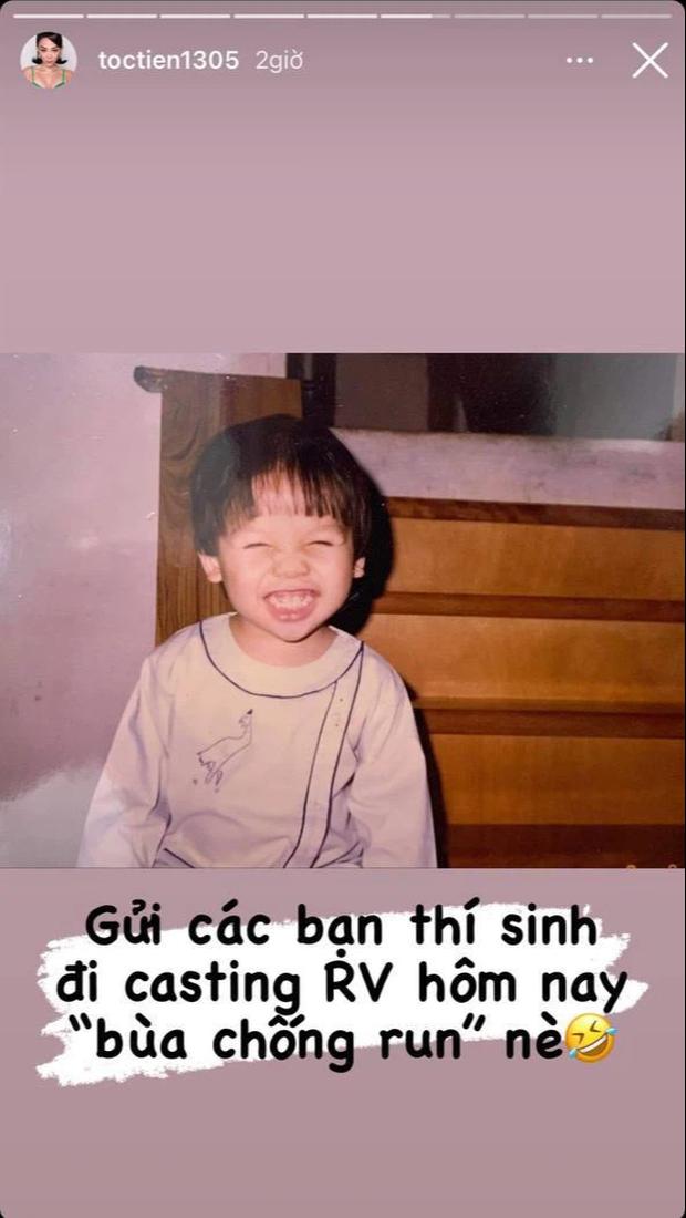 Thí sinh casting Rap Việt mùa 2 được Tóc Tiên tặng bùa chống run cực cute! - Ảnh 3.