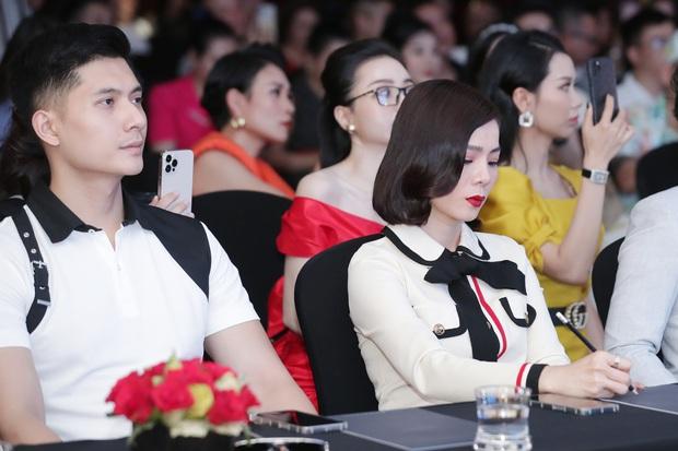 Bị hỏi bạn trai có ghen không nếu ôm Quang Hà, Lệ Quyên có ngay câu trả lời còn suýt để Lâm Bảo Châu phải lên tiếng - Ảnh 8.