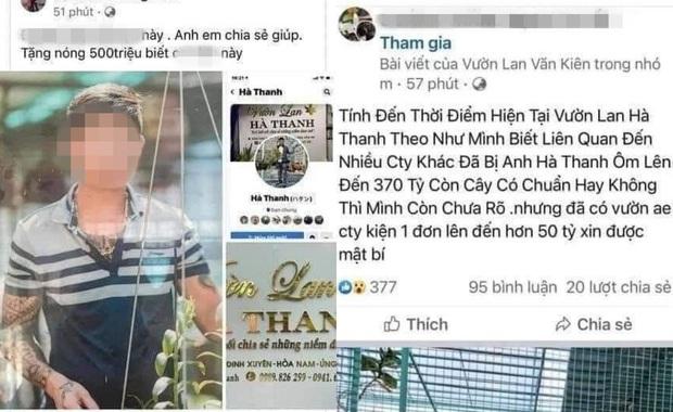Đồn đoán chủ vườn lan đột biến ở Hà Nội ôm hàng trăm tỷ bỏ trốn: Chủ vườn lan từng làm lái xe 3 bánh - Ảnh 1.