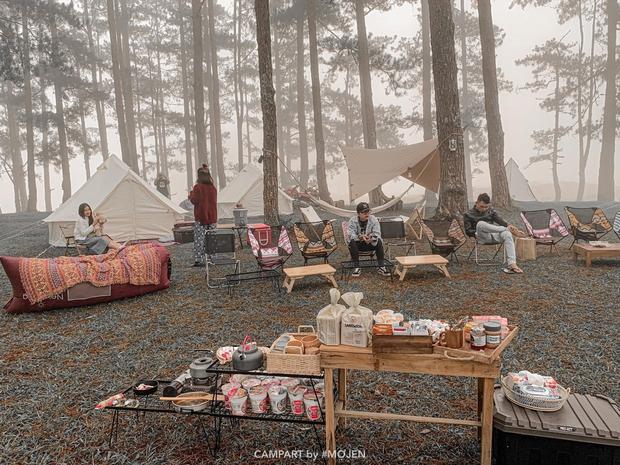 """Gặp anh """"bụi đời"""" sở hữu khu cắm trại hot nhất Đà Lạt, tiết lộ mức kinh phí ban đầu khiêm tốn bất ngờ - Ảnh 6."""
