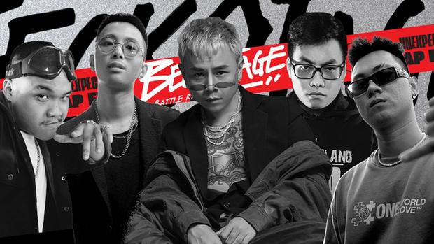 Rapper từng làm giám khảo ngang hàng Binz, Rhymastic bất ngờ xuất hiện tại casting Rap Việt mùa 2! - Ảnh 3.
