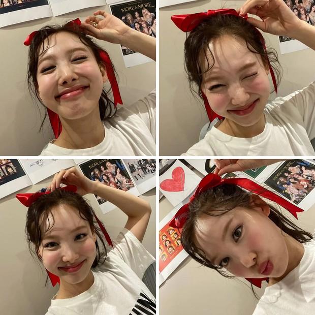 Netizen Hàn phát hoảng vì ảnh mới của Nayeon (TWICE): Lỗi tại điệu cười hay lớp makeup phản chủ? - Ảnh 2.