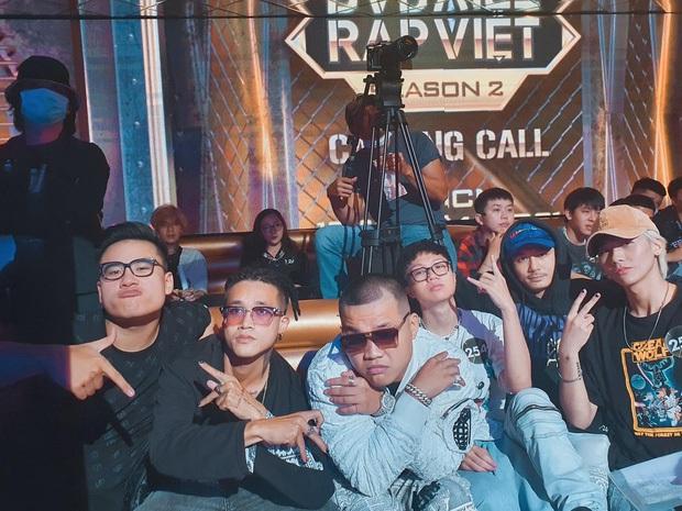 Người từng ngồi ghế nóng ngang hàng Rhymastic, còn kết hợp với nhau nay lại làm thí sinh đi casting Rap Việt? - Ảnh 3.