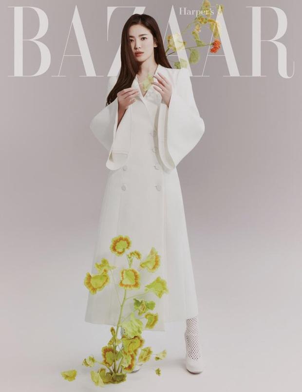 Song Hye Kyo hay bị dân tình chê thiếu khí chất thời trang nhưng cô đã có cú bẻ lái cực gắt khiến antifan câm nín - Ảnh 3.