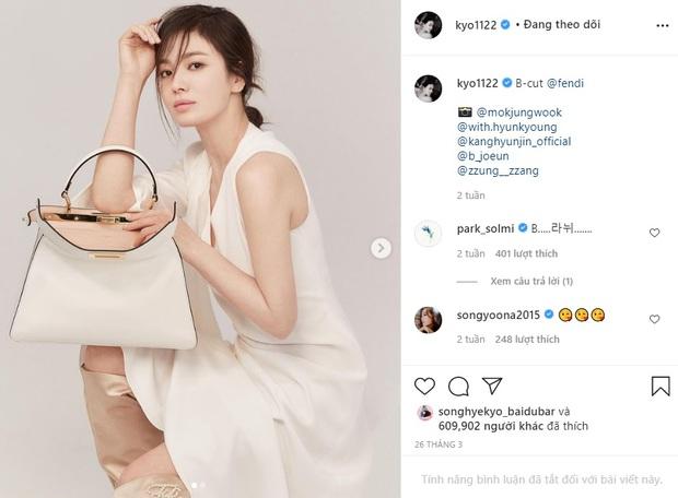 Song Hye Kyo hay bị dân tình chê thiếu khí chất thời trang nhưng cô đã có cú bẻ lái cực gắt khiến antifan câm nín - Ảnh 4.