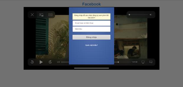 Link xem phim Bố Già đang tràn ngập Facebook, cẩn thận bị hack tài khoản! - Ảnh 3.