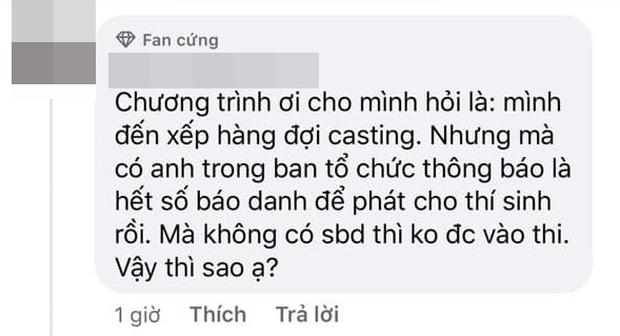 Thí sinh bức xúc BTC Rap Việt ưu tiên Mai Ngô vào casting trước, hết số báo danh nhưng không báo làm nhiều người phải ra về? - Ảnh 5.