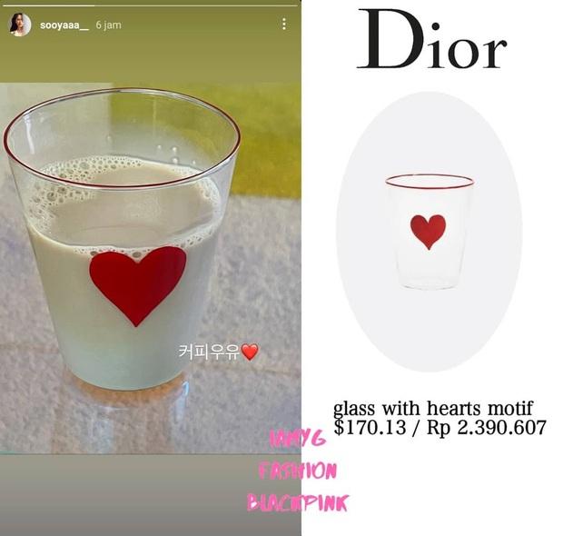 Jisoo khoe cốc Dior giá tận 4 triệu nhưng chỉ bỏ ra vài chục nghìn là bạn sắm được chiếc same same - Ảnh 2.