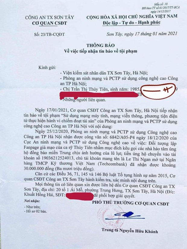 Thuỷ Tiên bị mạo danh tặng thuốc lừa đảo, tiết lộ gây sốc về số tiền bị kẻ gian chiếm trong drama cứu trợ miền Trung - Ảnh 5.