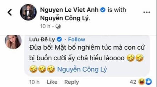 Quê như Lưu Đê Ly: Phải bình luận lên xuống mới được Việt Anh rep lại, mỗi lần comment là phải tag hẳn tên ai đó mới chịu! - Ảnh 3.