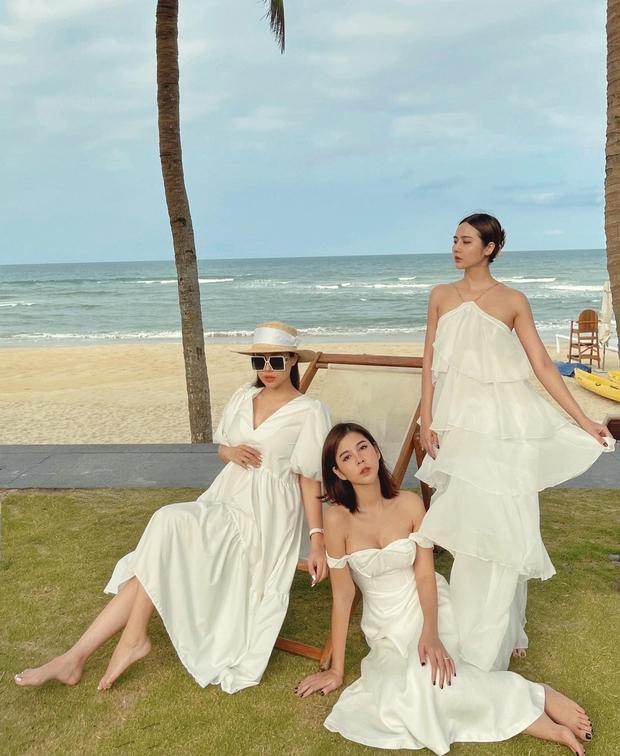 """Mẹ bầu Phanh Lee lên đồ """"sống ảo"""" cùng hội chị em, hé lộ vai trò đặc biệt của dàn mỹ nhân Vbiz với ái nữ hào môn sắp chào đời - Ảnh 5."""