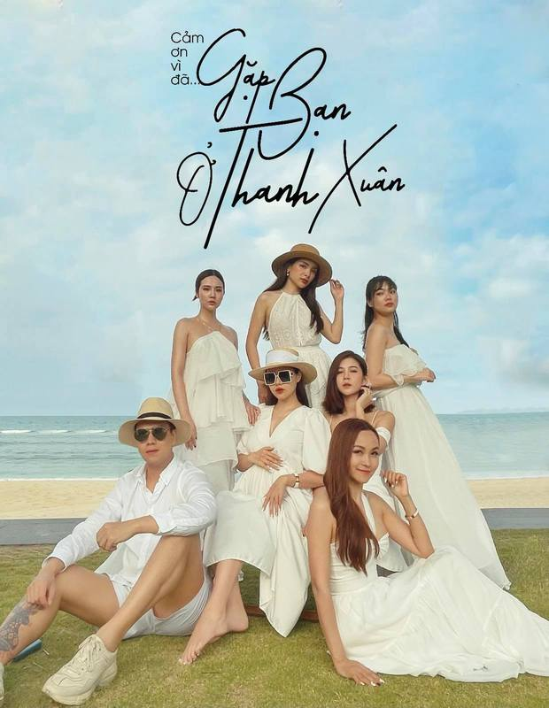 """Mẹ bầu Phanh Lee lên đồ """"sống ảo"""" cùng hội chị em, hé lộ vai trò đặc biệt của dàn mỹ nhân Vbiz với ái nữ hào môn sắp chào đời - Ảnh 2."""
