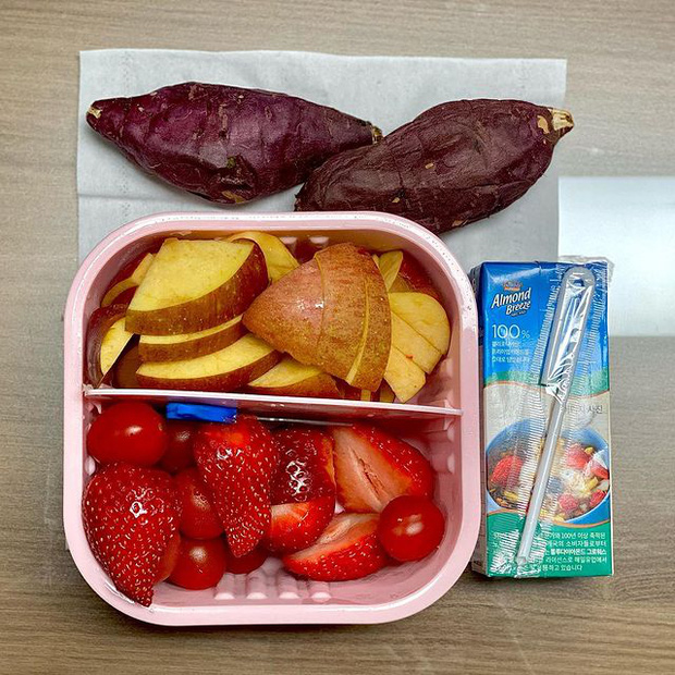 YouTuber Hàn chia sẻ bí quyết giảm ngay 4,7kg trong 7 ngày bằng chế độ ăn kiêng với khoai lang - Ảnh 21.