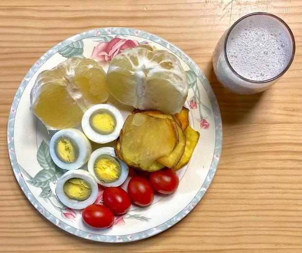 YouTuber Hàn chia sẻ bí quyết giảm ngay 4,7kg trong 7 ngày bằng chế độ ăn kiêng với khoai lang - Ảnh 7.