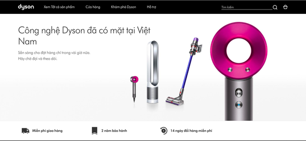 Apple của đồ gia dụng - Dyson chính thức có mặt tại Việt Nam, máy sấy tóc giá gần 14 triệu là tâm điểm chú ý! - Ảnh 2.