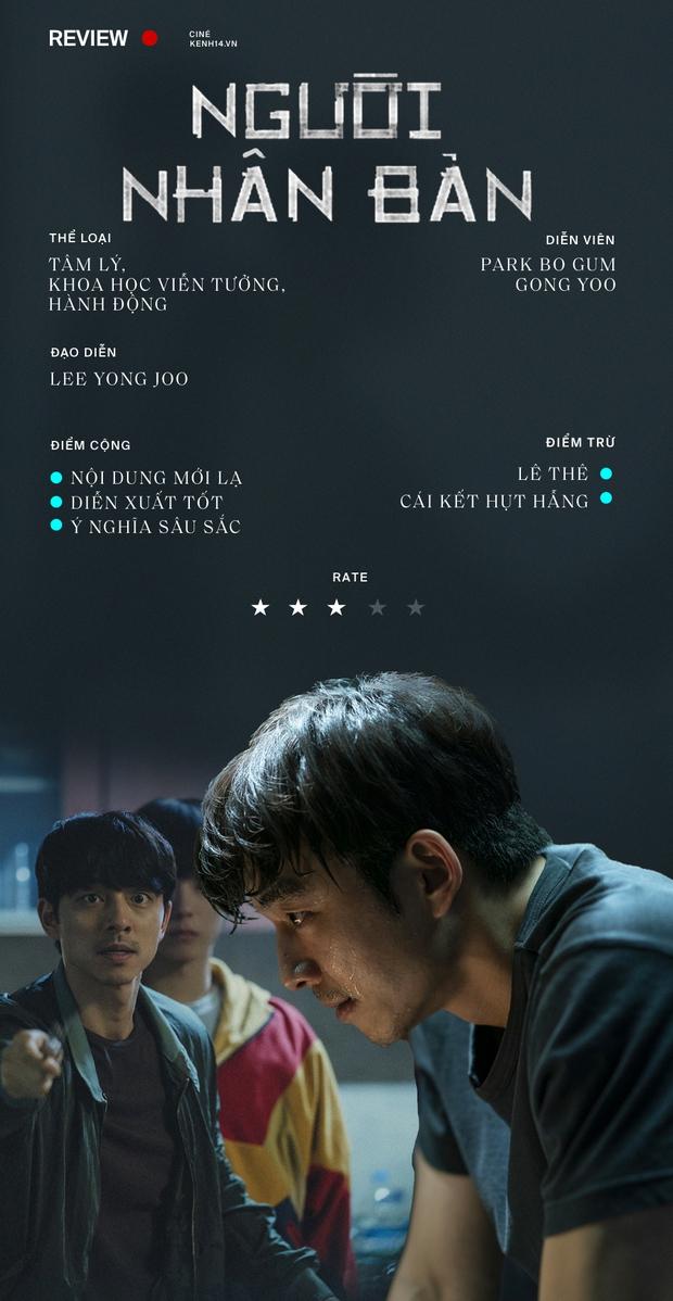 Người Nhân Bản: Nội dung Gong Yoo và Park Bo Gum cũng không đủ cứu bộ phim lê thê, hụt hẫng? - Ảnh 18.