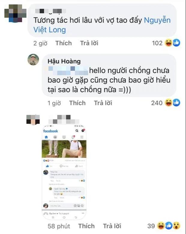 Mũi trưởng Long có động thái dằn mặt khi Hậu Hoàng bị một netizen nhận vơ làm... vợ - Ảnh 2.