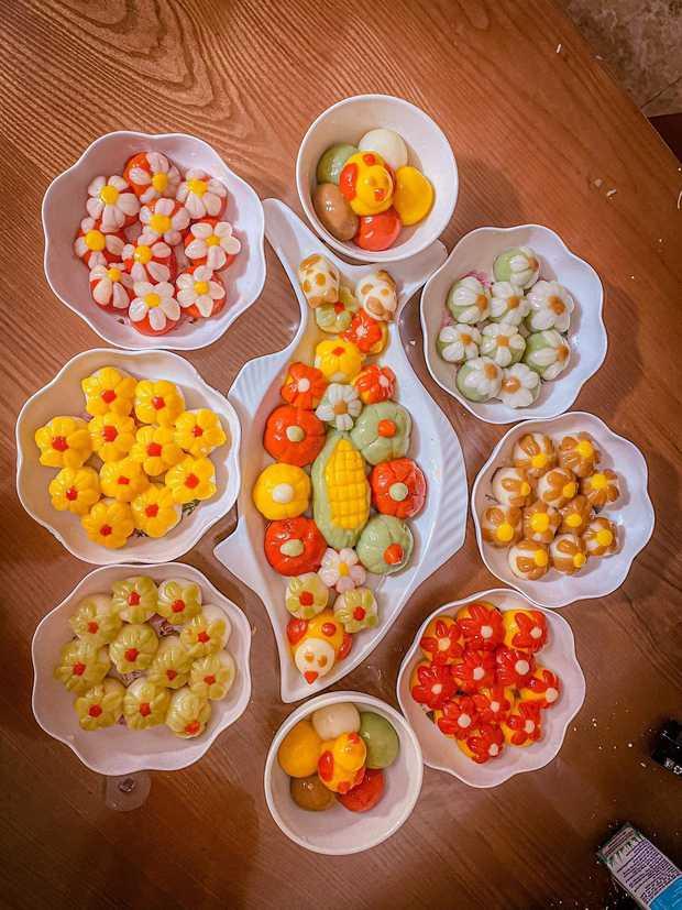 Đại hội nặn bánh trôi của dân mạng nhân dịp Tết Hàn thực: Tác phẩm nào cũng đẹp xuất sắc, ai khéo tay lắm mới làm được! - Ảnh 5.