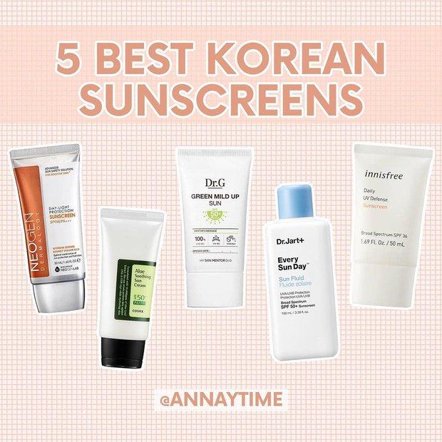 Đừng mất lòng tin vào kem chống nắng Hàn, beauty blogger chọn ra 5 loại kiềm dầu cực đỉnh dành cho da hỗn hợp và da dầu đây - Ảnh 2.
