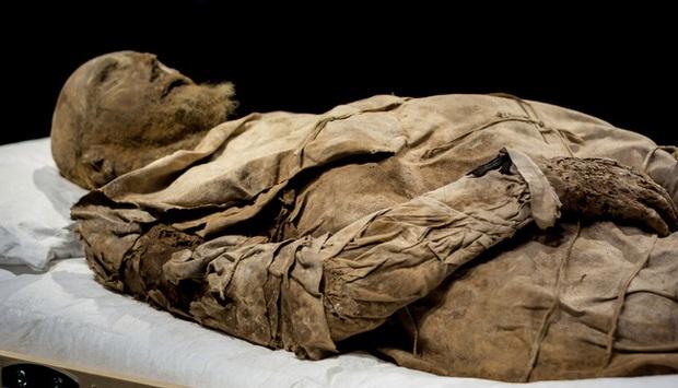 Chụp X-quang quan tài chứa xác ướp 300 tuổi của người đàn ông, các nhà khoa học ngỡ ngàng phát hiện bào thai ngay dưới chân - Ảnh 1.