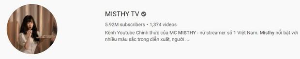 Linh Ngọc Đàm thông báo kênh YouTube 6 triệu sub của MisThy sắp về bờ, fan tưng bừng như hội! - Ảnh 1.