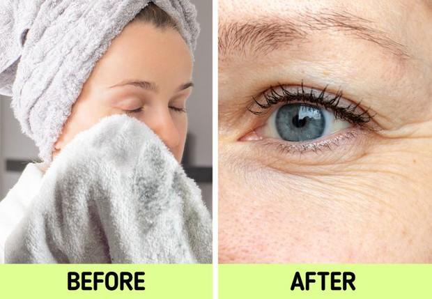 Nếu biết lý do khiến làn da ngày càng nhăn nheo mụn nhọt, bạn sẽ cạch đến già việc dùng khăn lau mặt - Ảnh 3.