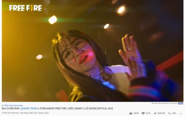 Cô Ngân ra mắt MV rap khiến người nghe sởn gai ốc đến mức trầm cảm, game thủ Free Fire đổ lỗi cho MV của Jack - Ảnh 3.